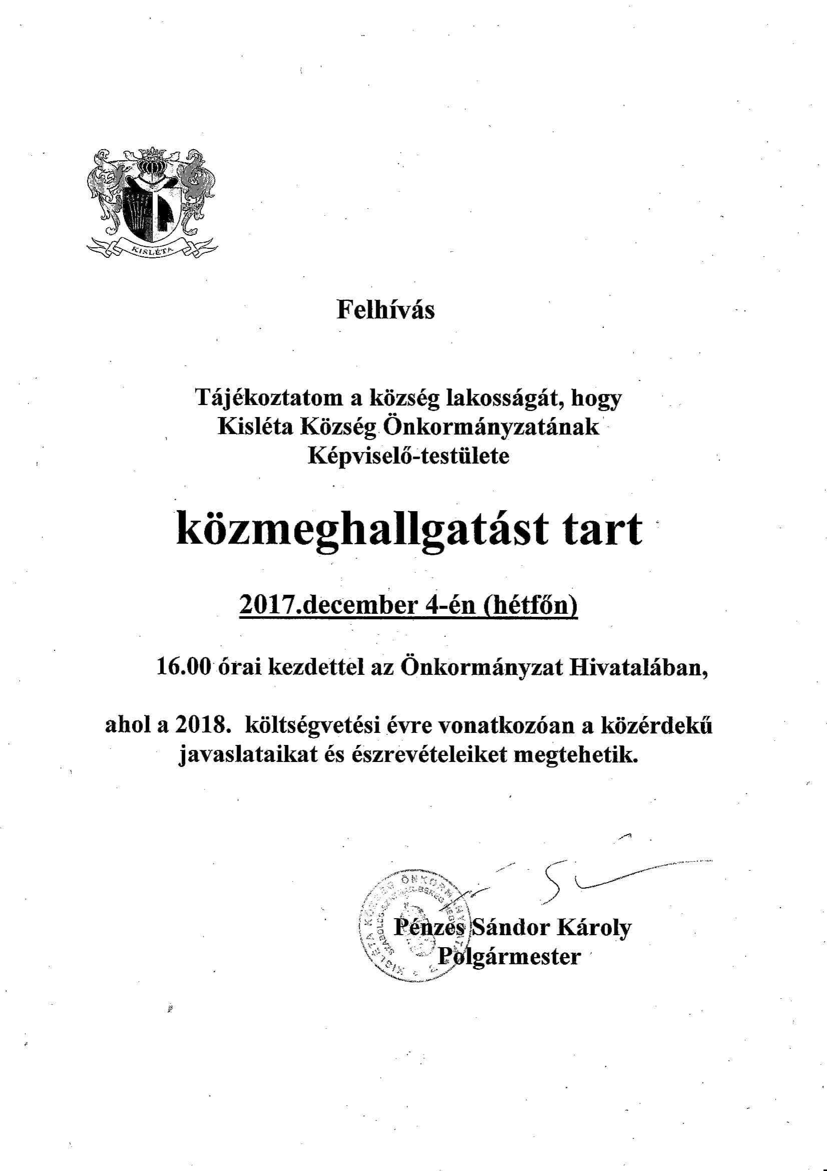 KÖZMEGHALLGATÁS-1